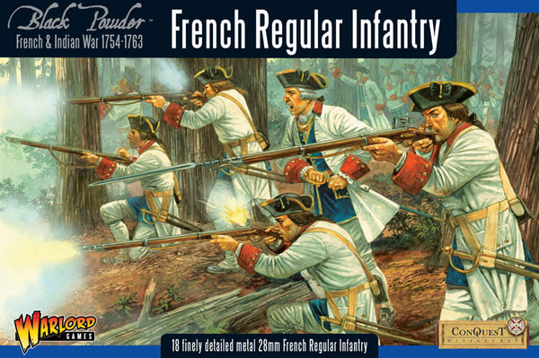 French Indian War 1754-1763 - Warlord Games