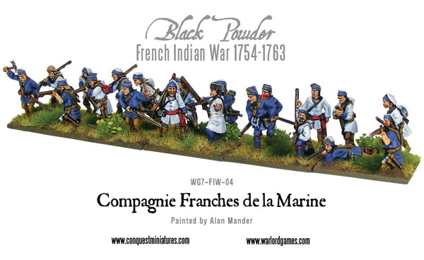 French Compagnie de la Marine boxed set