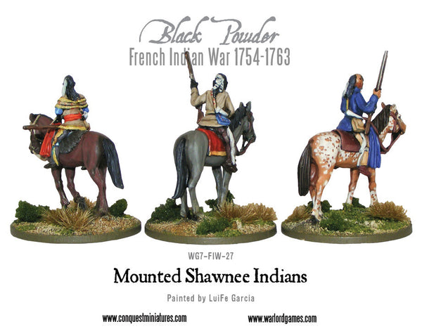 Mounted Shawnee