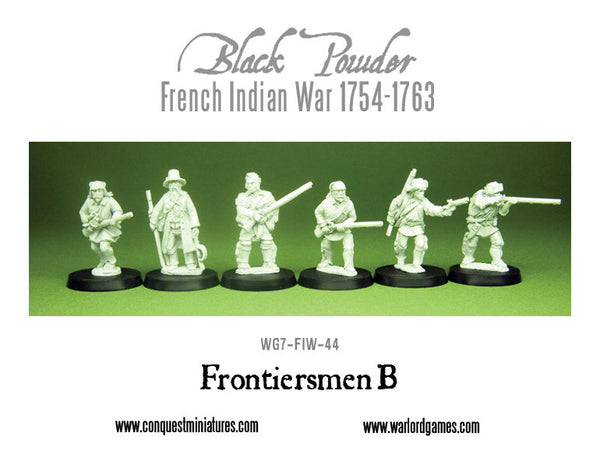 French-Indian War Frontiersmen B