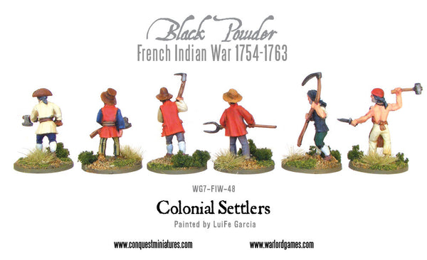 Colonial Settlers