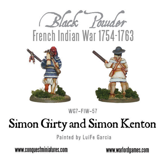 Simon Girty and Simon Kenton
