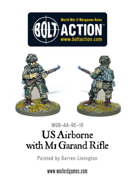 US Airborne with M1 Garand rifle (2)