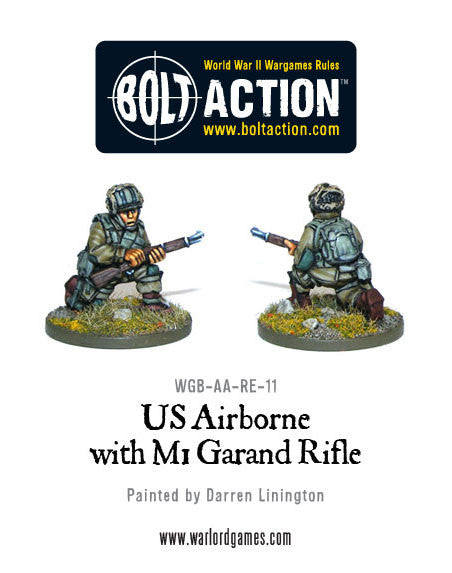 US Airborne with M1 Garand rifle (3)