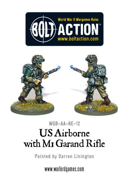 US Airborne with M1 Garand rifle (4)