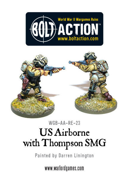 US Airborne with Thompson SMG (3)