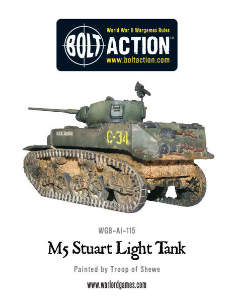 M5 Stuart light tank