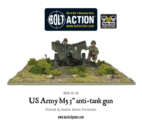 "US Army M5 3"" anti-tank gun"
