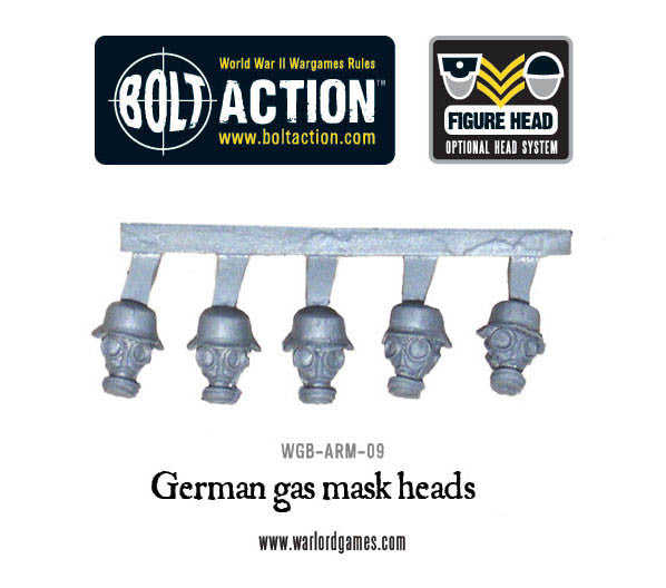 German Gasmask Figure Heads