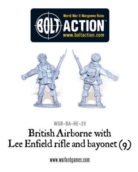 British Airborne with Lee Enfield rifle and bayonet (9)