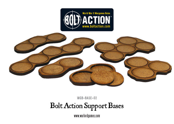 Bolt Action support bases