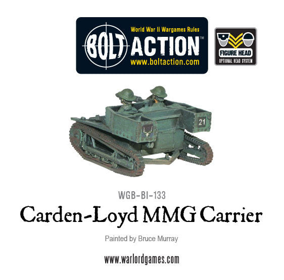 Carden Loyd MMG carrier