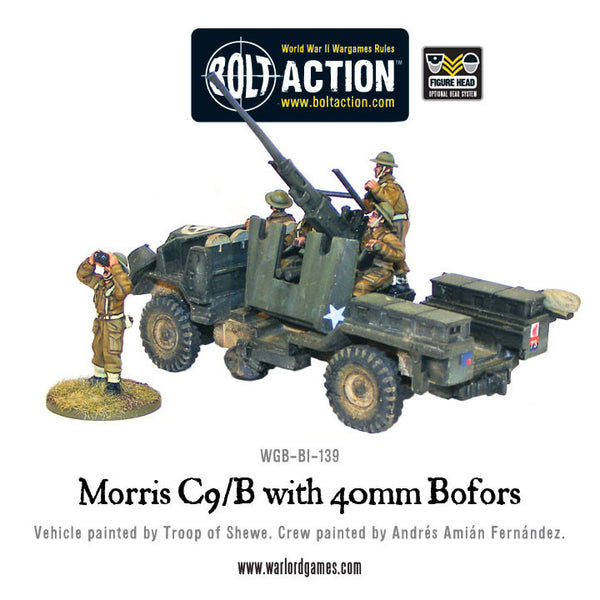 Morris C9/B with 40mm Bofors