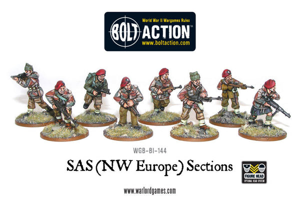 SAS (NWE) sections