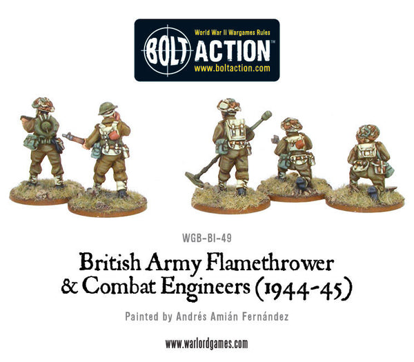 British Flamethrower & Combat Engineers
