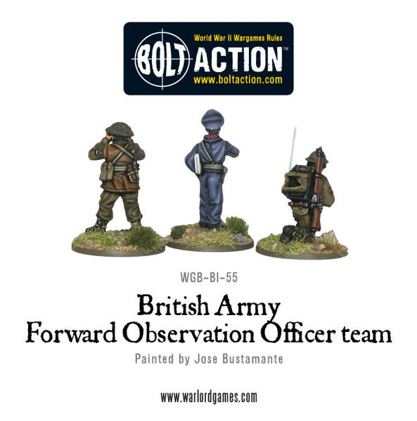British Army FOO team
