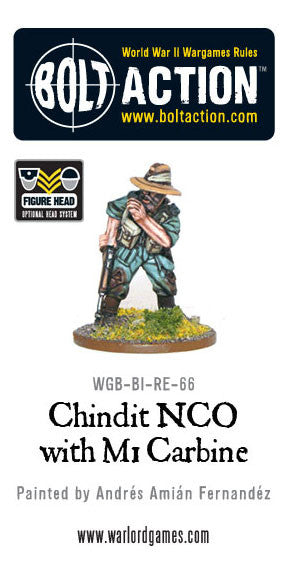 Chindit NCO with M1 Carbine