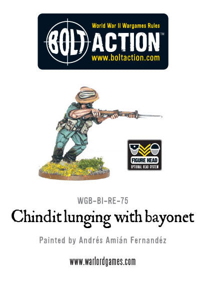 Chindit Lunging with Bayonet