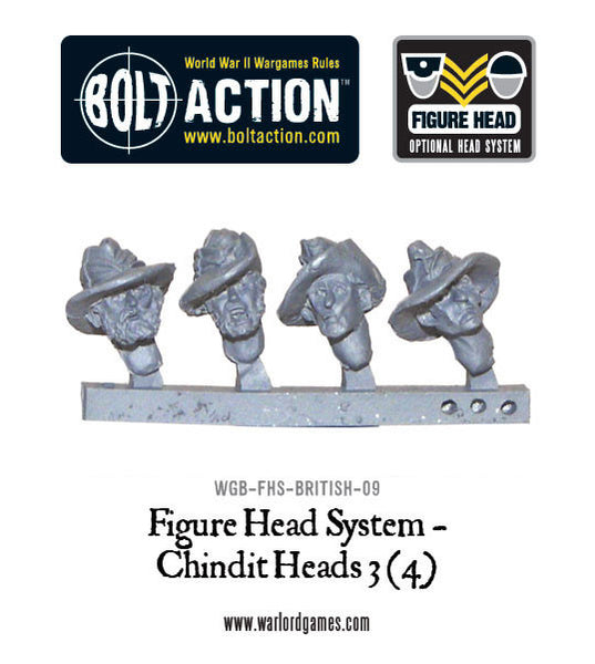 Figure Head System - Chindit Heads 3 (4)