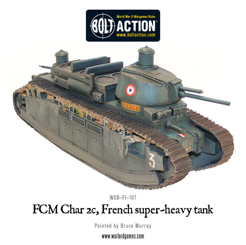 FCM Char 2c super-heavy tankChoose Currency