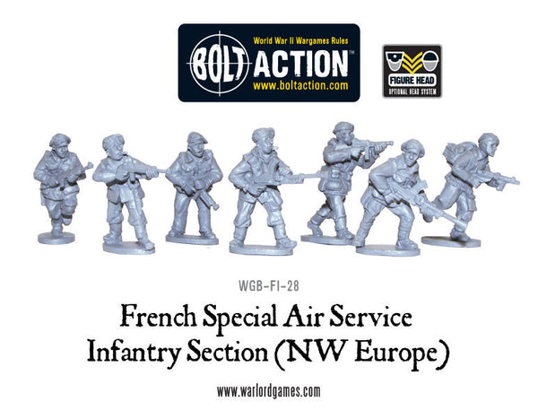 French SAS (NWE) sections