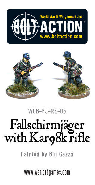 Fallschirmjager with KAR98K rifle (1)