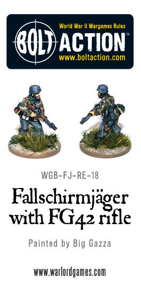 Fallschirmjager with FG42 (4)