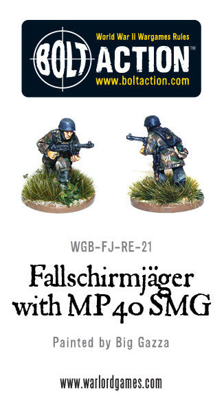 Fallschirmjager with MP40 (3)