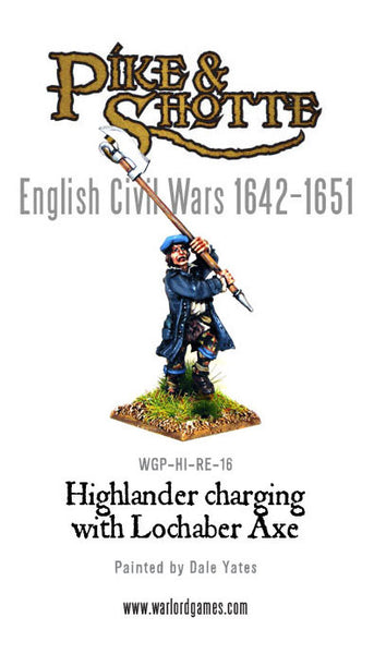 Highlander Charging with Lochaber Axe