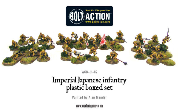 Imperial Japanese infantry plastic boxed set