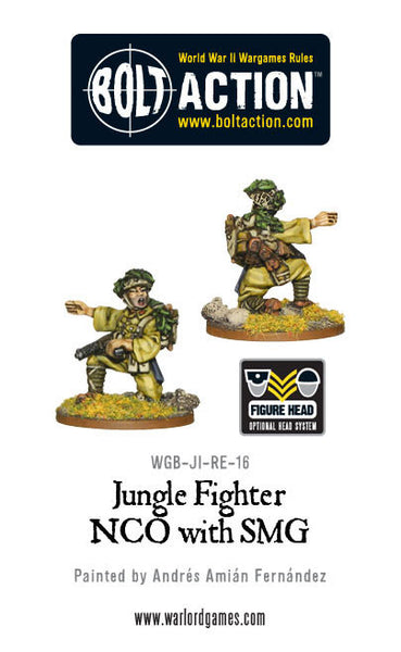 Jungle Fighter NCO with SMG
