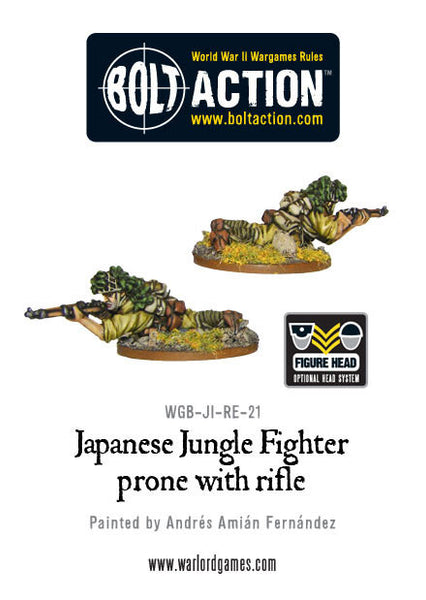 Jungle Fighter prone with Rifle