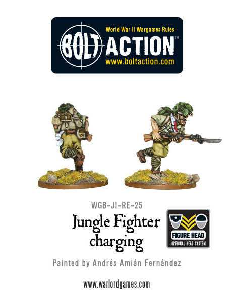Jungle Fighter Charging