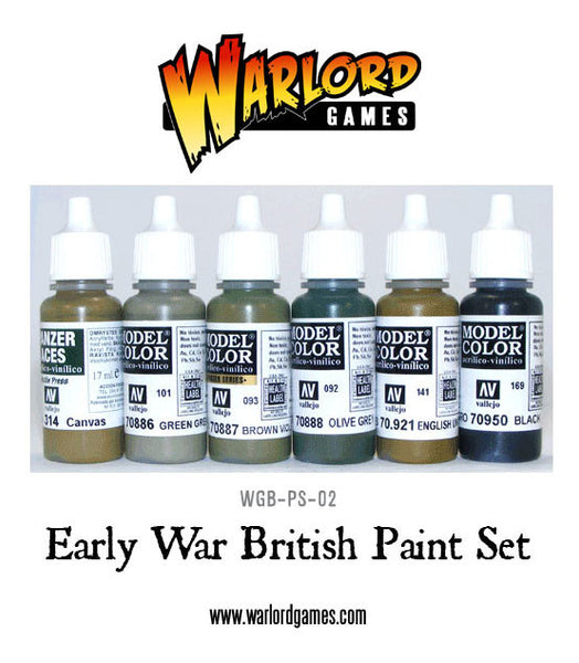Early War British Paint Set