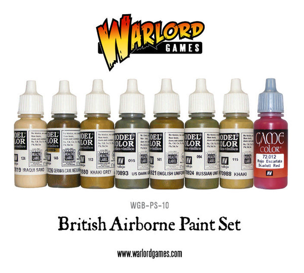 British Airborne Paint Set