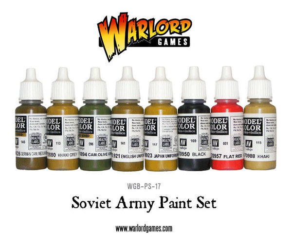 Soviet Army Paint Set