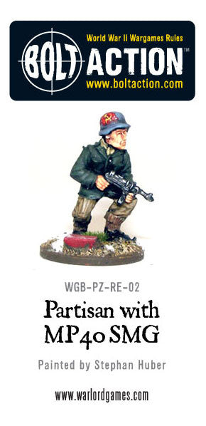 Partisan with MP40
