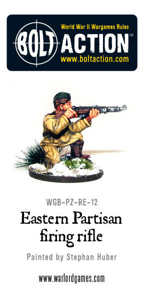 Eastern Partisan firing Rifle