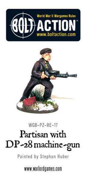 Partisan with DP28 Light Machine Gun