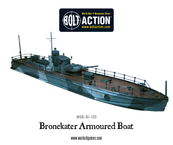 Soviet Bronekater Armoured Patrol Boat
