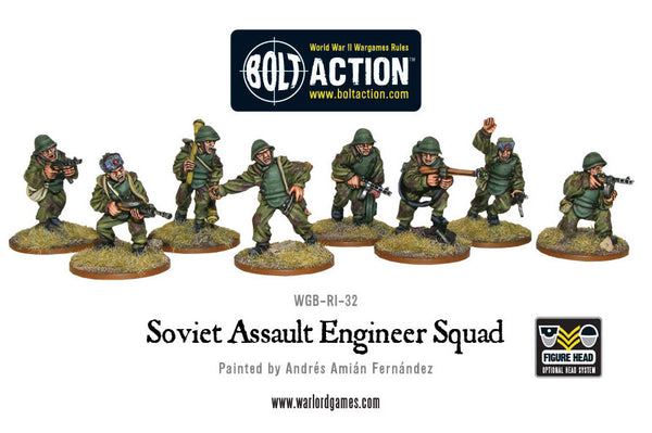 Soviet Assault Engineer squad