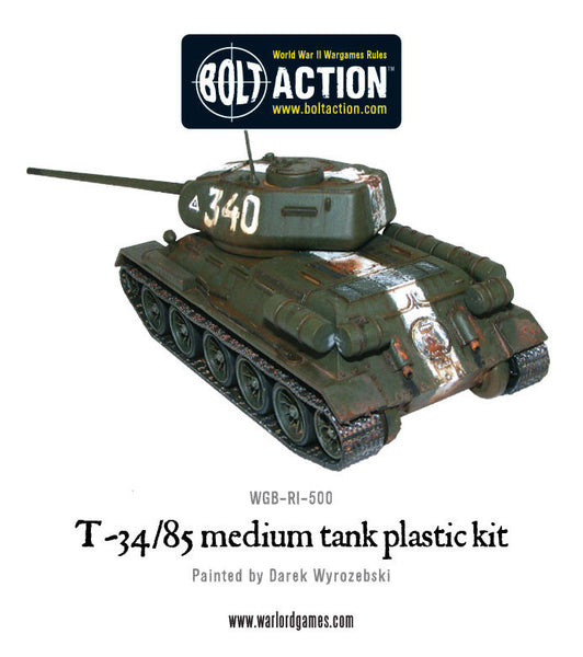 Build Your Own T-34/85 Kit