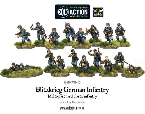 Blitzkrieg German Infantry plastic boxed set