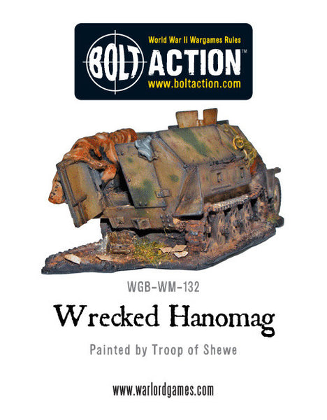 Wrecked Hanomag