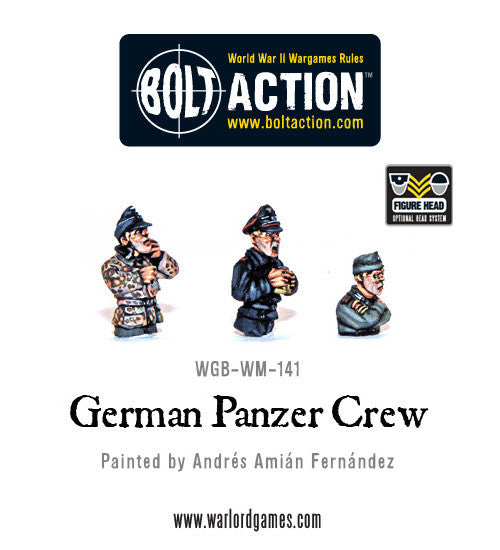 German Panzer Crew