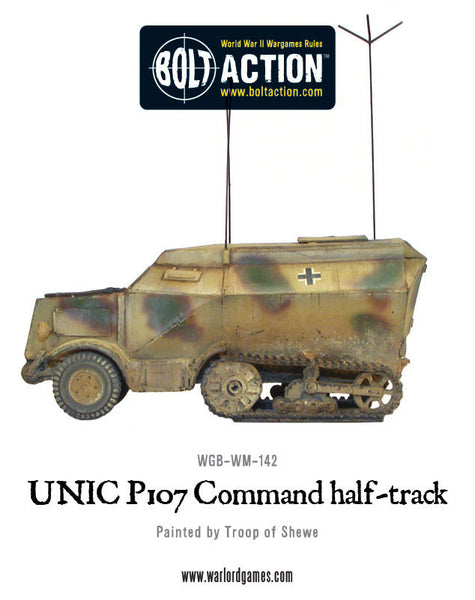Unic P107 Command Halftrack