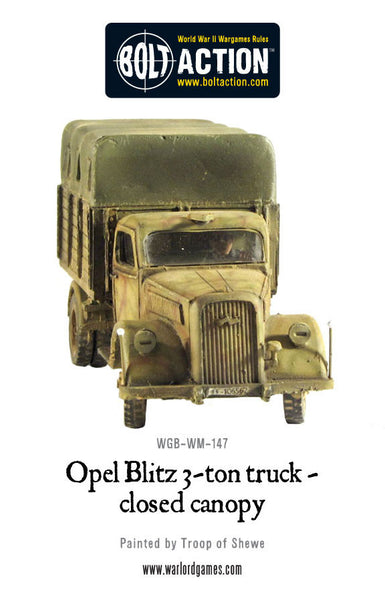 Opel Blitz Truck - Closed Canopy