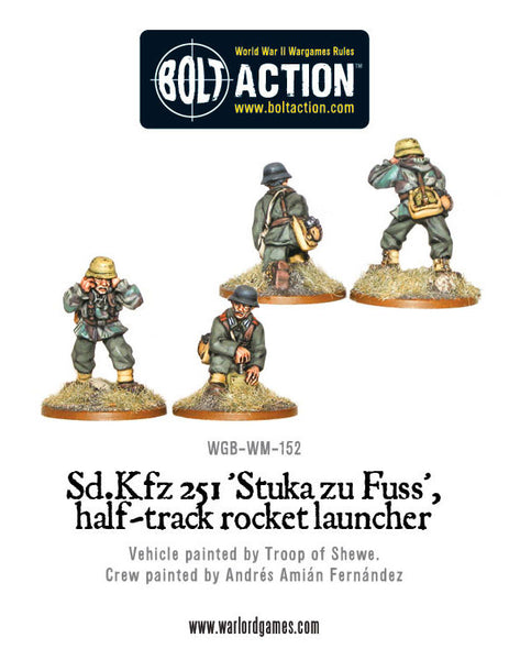 Sd.Kfz 251 'Stuka zu Fuss', halftrack rocket launcher