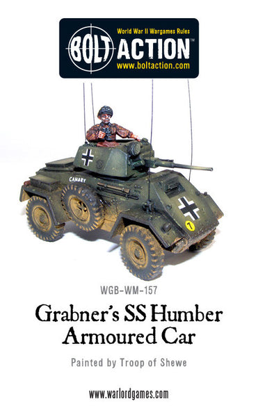 Gräbner's SS Humber Armoured Car