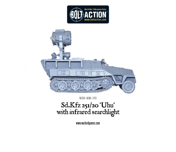 Sd.Kfz 251/20 Uhu with infra-red searchlight